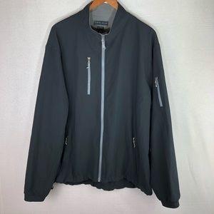 Peter Millar Element 4 Wind Black Golf Jacket XL